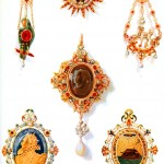 Design - Apparel - Jewellery - Renaissance pendants (2)
