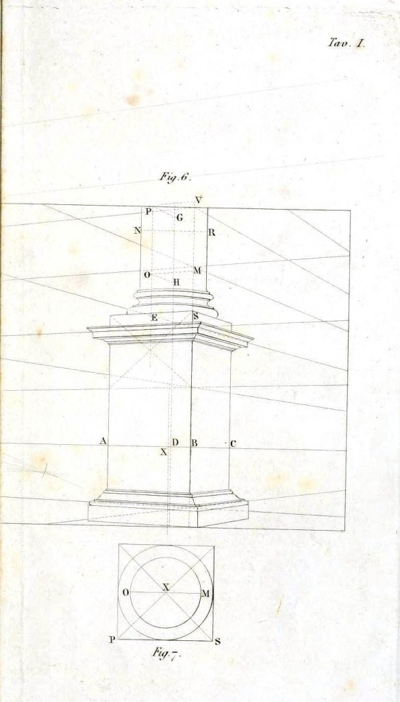 Architectural Column Base : Design architectural vintage printable at swivelchair