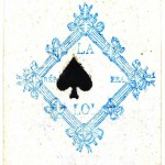 Entertainment - Playing card - Ace of Spades - French