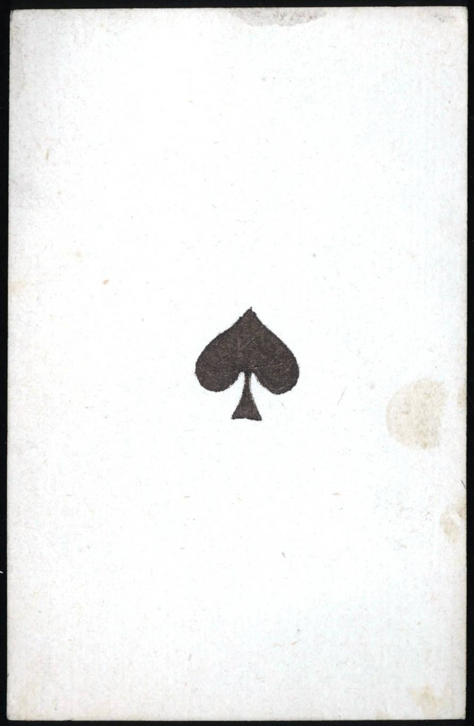 Entertainment - Playing card - Ace of Spades