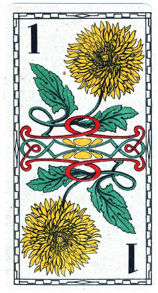 Entertainment - Playing card - Flower 1