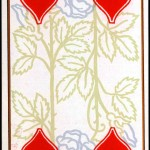 Entertainment - Playing card - Four of Hearts - French