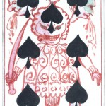 Entertainment - Playing card - Seven of Spades - Monsters
