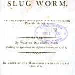 Printed Matter - Title Page - Natural History of the Slug Worm