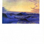 Seascape - British - Waves at sunrise
