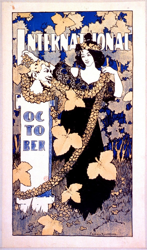 Art - Advertisement - Art Nouveau - International October