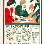 Art - Advertisement - Art Nouveau - Salon de 100 2