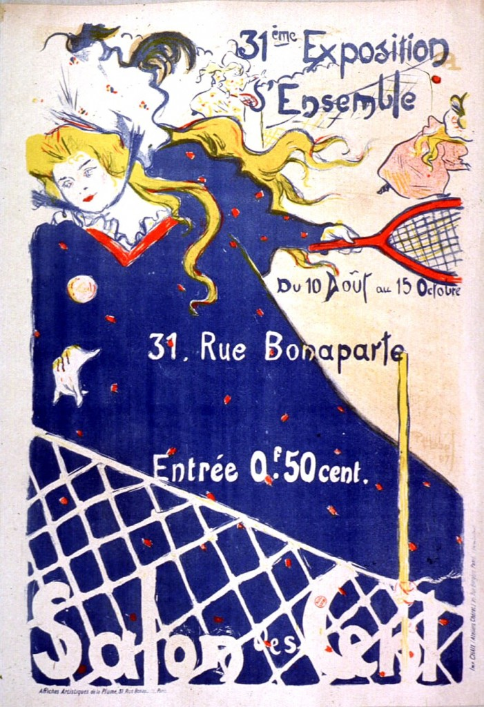 Art - Advertisement - Art Nouveau - Salon des Cent