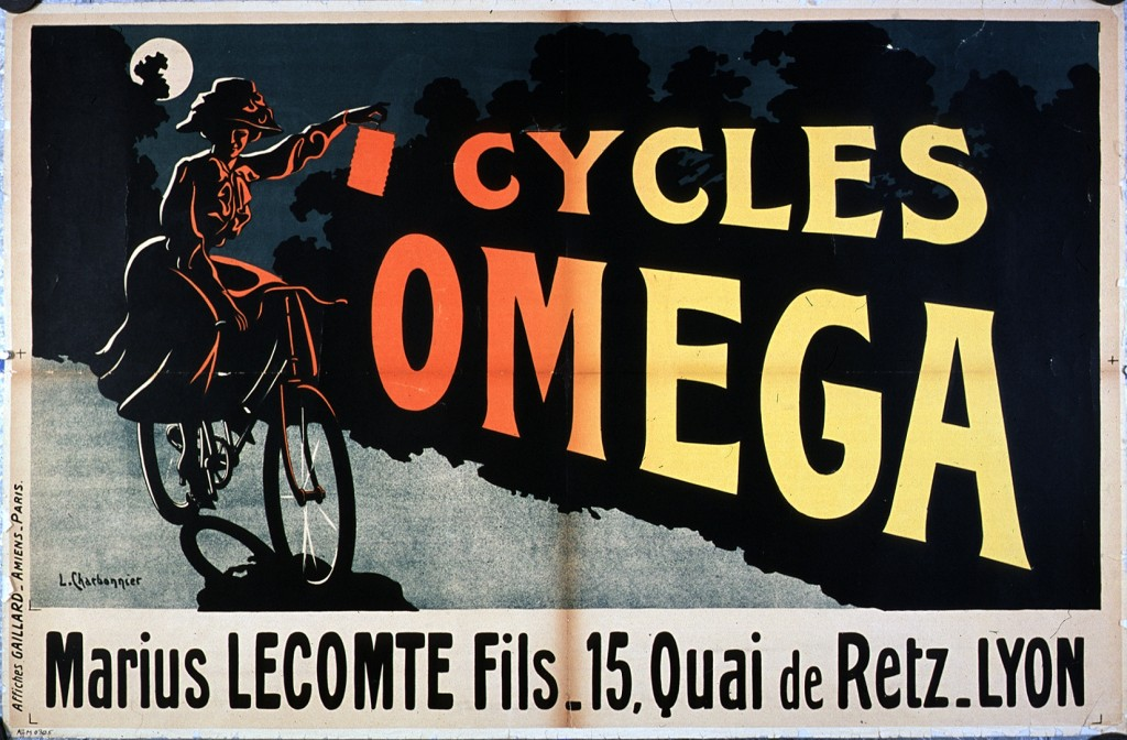 Art - Advertisement - French - Cycles Omega