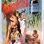 Art - Advertisement - French - Rhum Mangostan