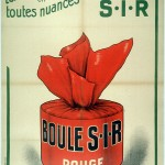 Art - Advertisement - French - Rouge