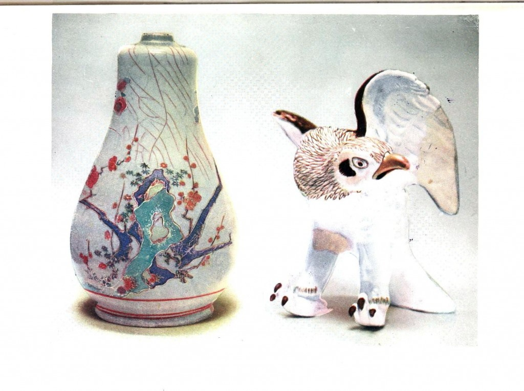 Art - Asian - Japanese porcelain, figurines
