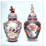 Art - Asian - Japanese porcelain, jars