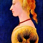 Portrait - Painting - Portrait of a lady in yellow
