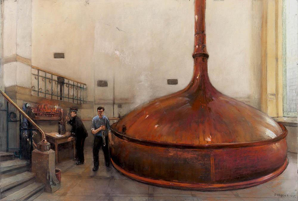 Art - Painting - Distillery