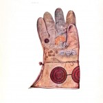 Design - Apparel - Glove with applique circles