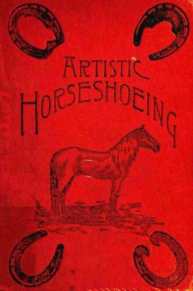Printed matter - Book Cover - Artistic Horseshoeing