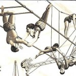 Art - Advertisement - Circus - Aerial Acts