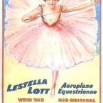Art - Advertisement - Circus - Aeroplane Equestrienne