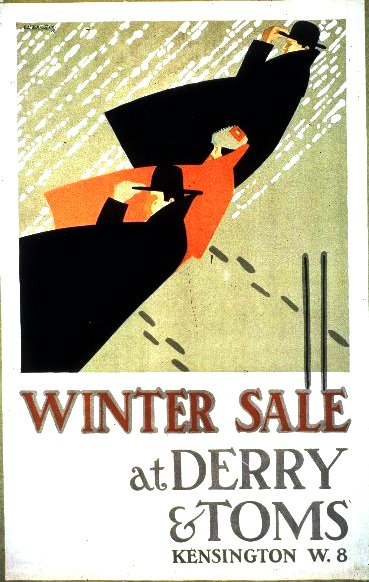 Art - Advertisement - Winter sale at Derry & Toms