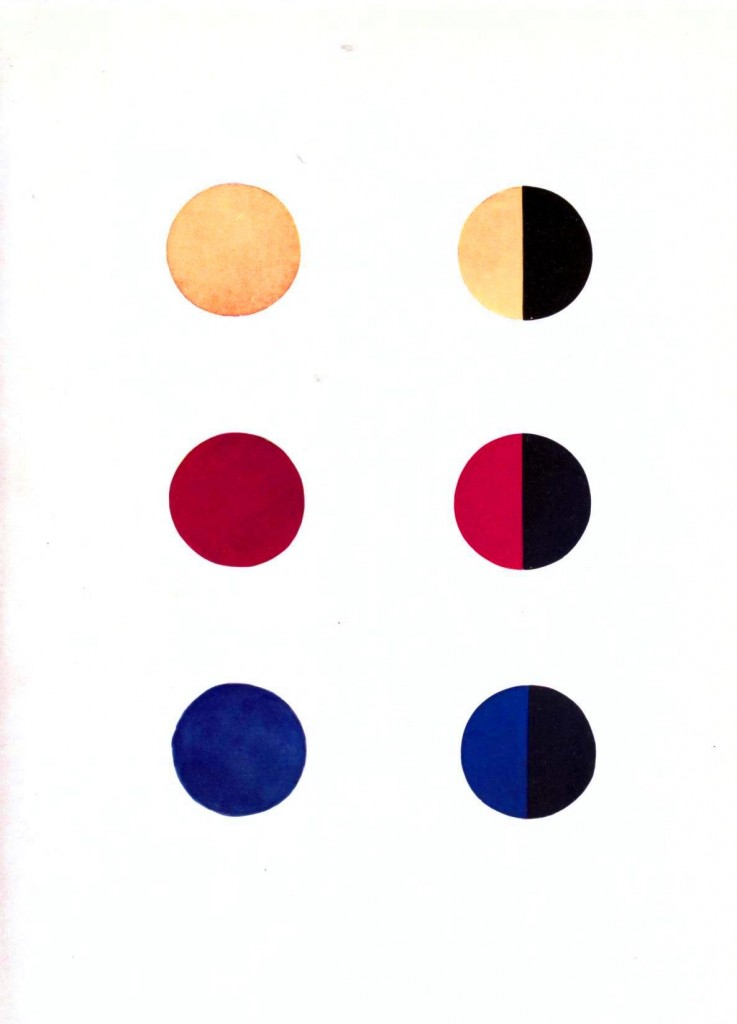 Color - Multi - Color chart, gradients opposites 2