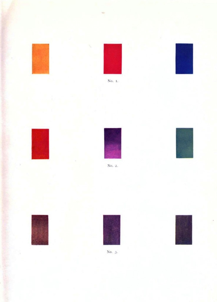 Color - Multi - Color chart, gradients