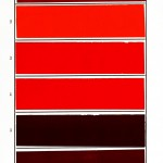 Color - Multi - Lake pigments - reds