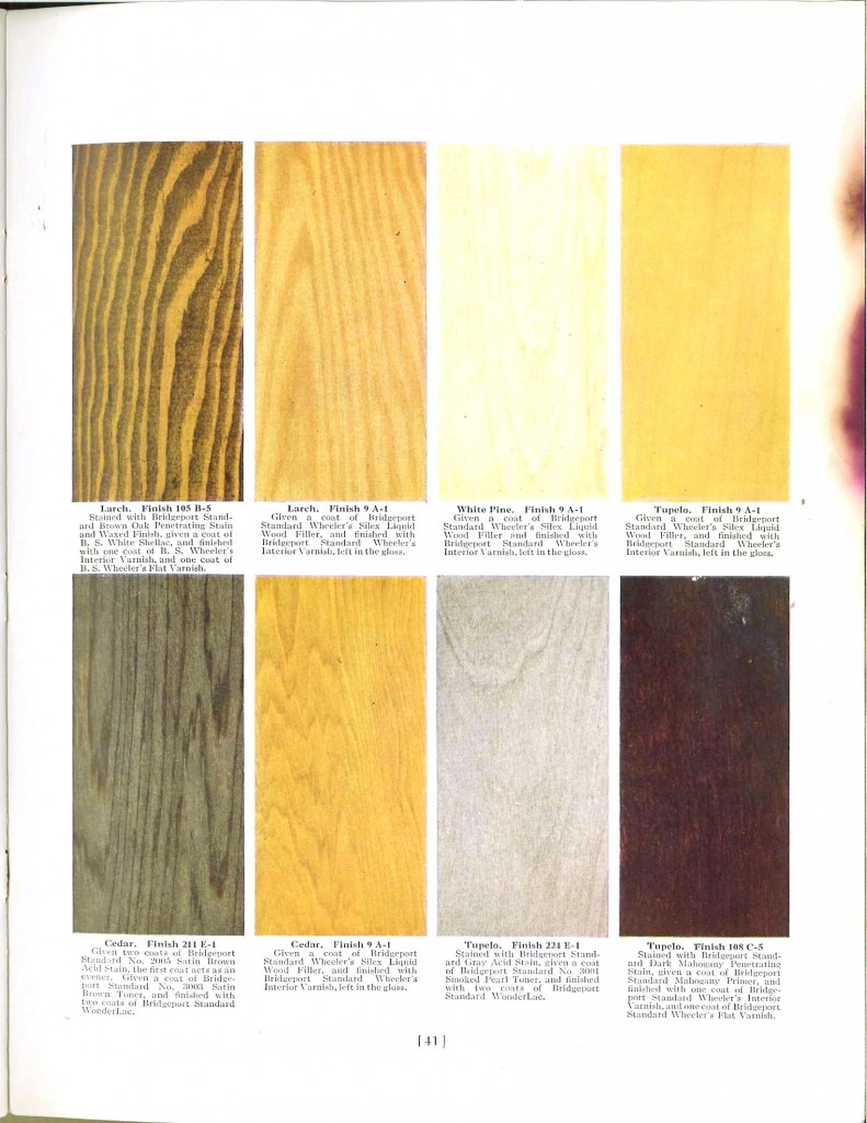 Color - Multi - Wood stains 11
