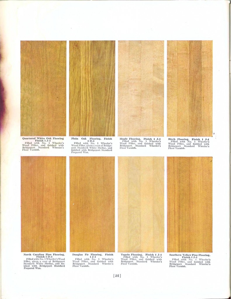 Color - Multi - Wood stains 14