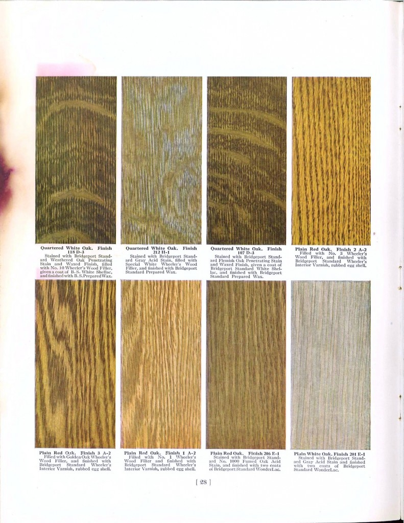 Color - Multi - Wood stains 6
