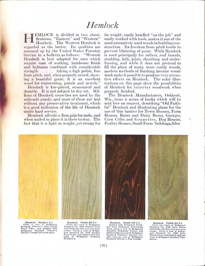 Color - Multi - Wood stains 9