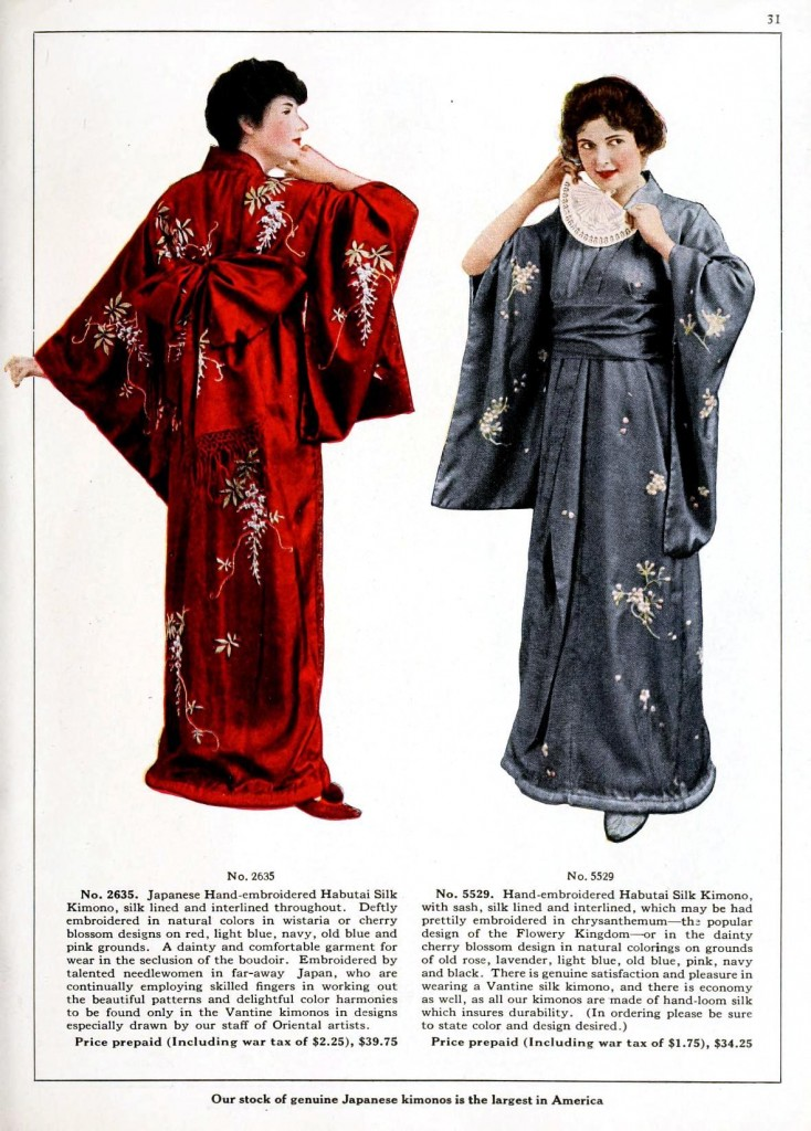 Design - Apparel - Asian - Kimono 3