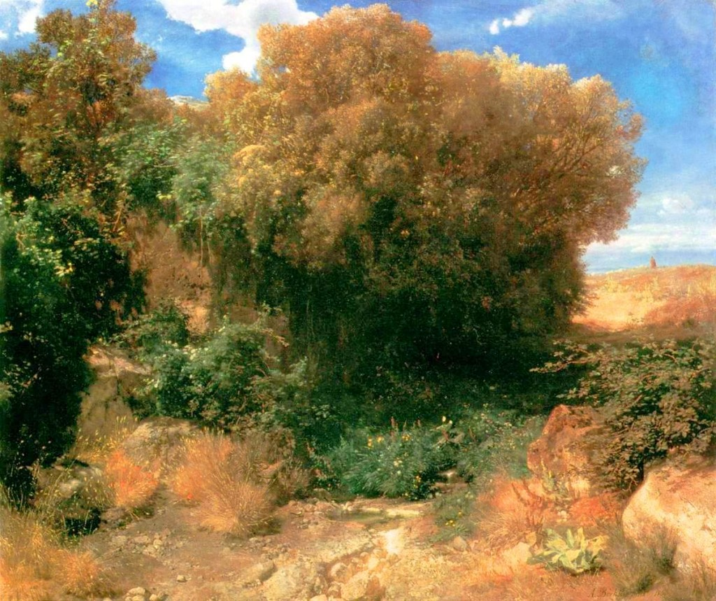 Landscape - Painting - Campagna