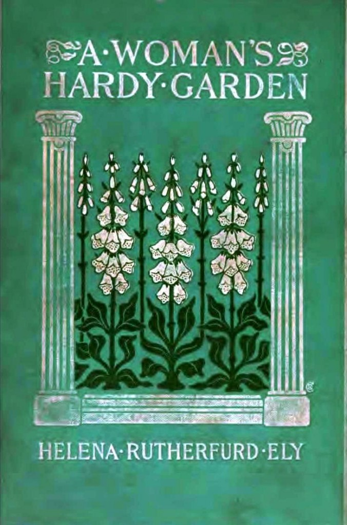 Printed Matter - Book Cover - A womans hardy garden