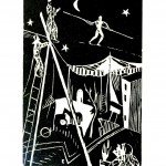 Entertainment - Circus - Tightrope, cut out