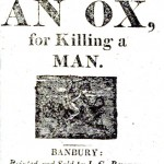 Animal - Animal acting human - Trial of an ox killing man - (1)