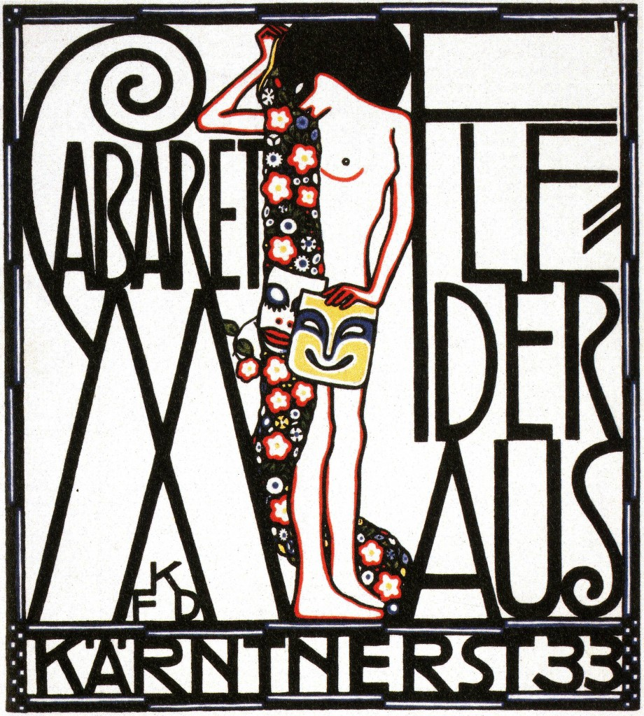 Art  - Advertisement - Cabaret Austria 1907