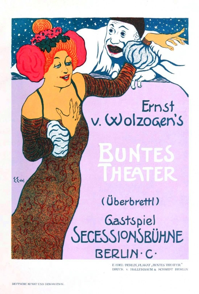 Art - Advertisement - Concert Berlin 1900