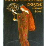 Art - Advertisement - Dresden art show 1906