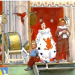 Art - Painting - Miserable circus
