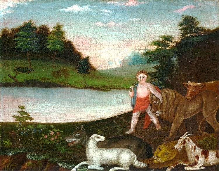 Art - Painting - Peaceable Kingdom