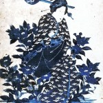 Asian - Art - Geisha with bat