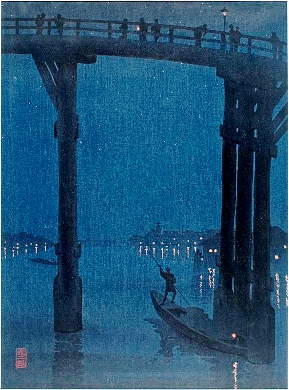 Asian - Art - Moonlight bridge