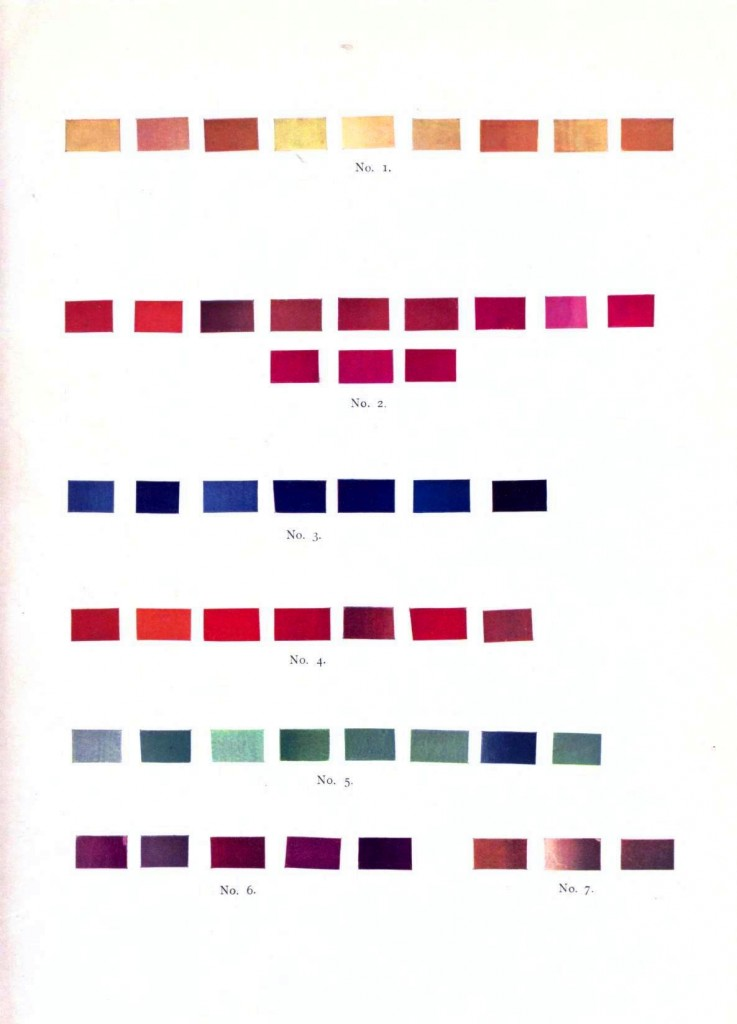 Color - Multi - Color chart, gradients 2