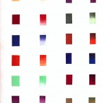 Color - Multi - Color chart, gradients jewel tones