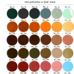 Color - Multi - Town and Country paint colors 1872