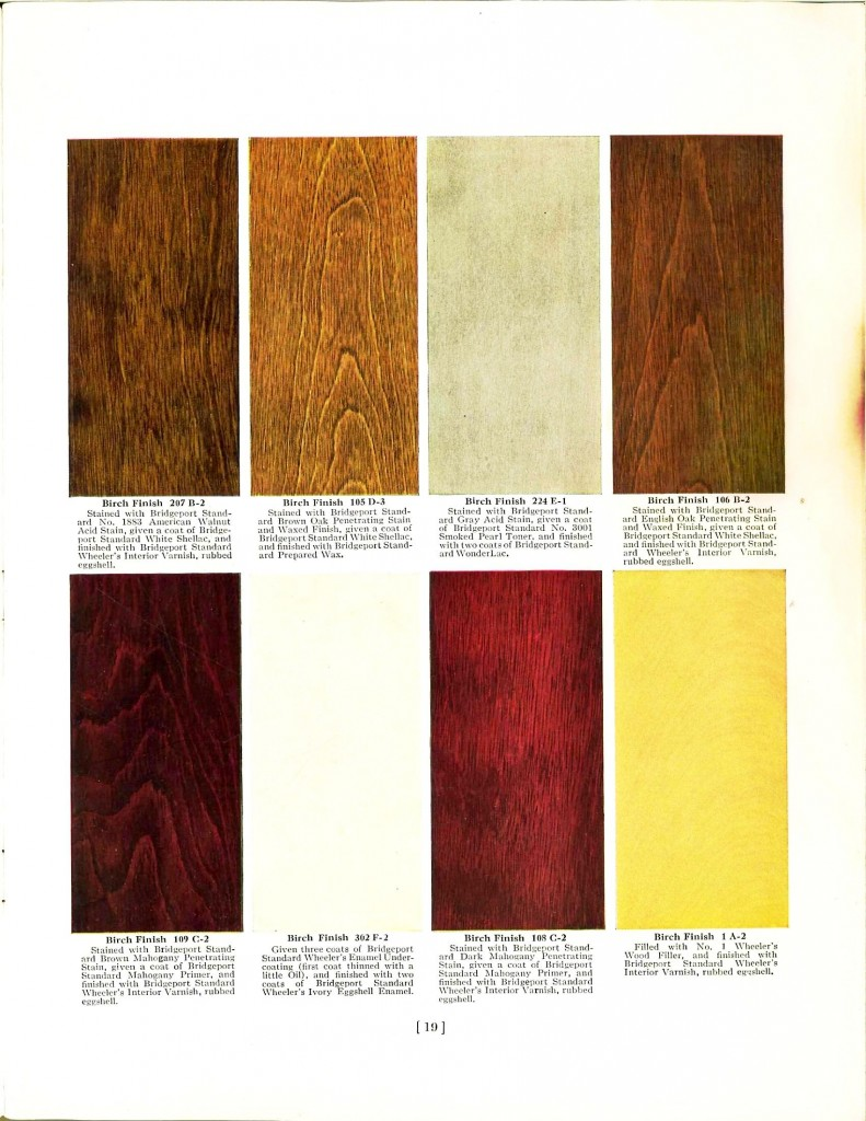 Wood Color Paint : Color - Multi - Town and Country paint colors 1872