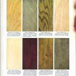 Color - Multi - Wood stains 12