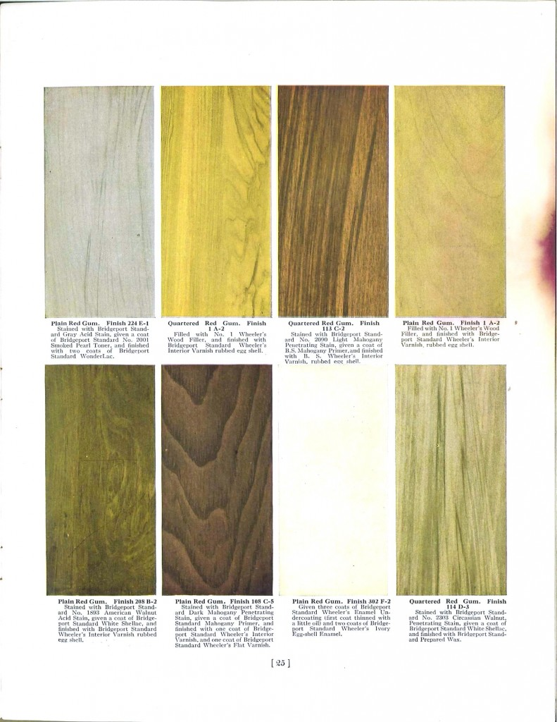 Color - Multi - Wood stains 4