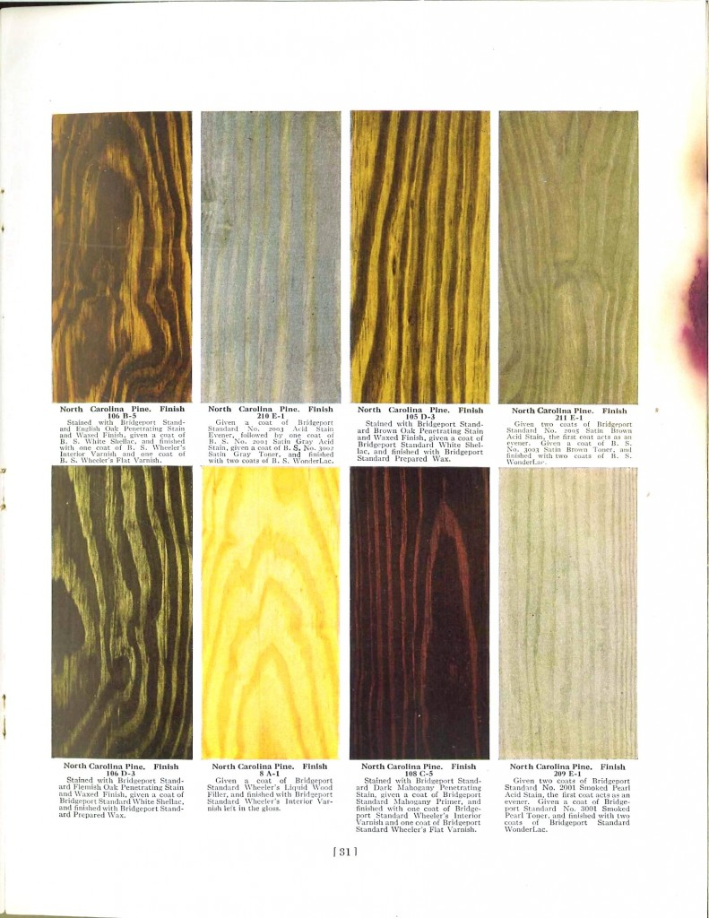Color - Multi - Wood stains 7